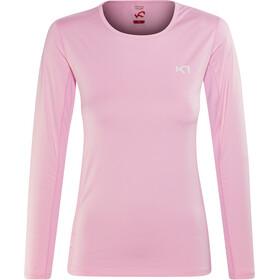 Kari Traa Nora - T-shirt manches longues Femme - rose